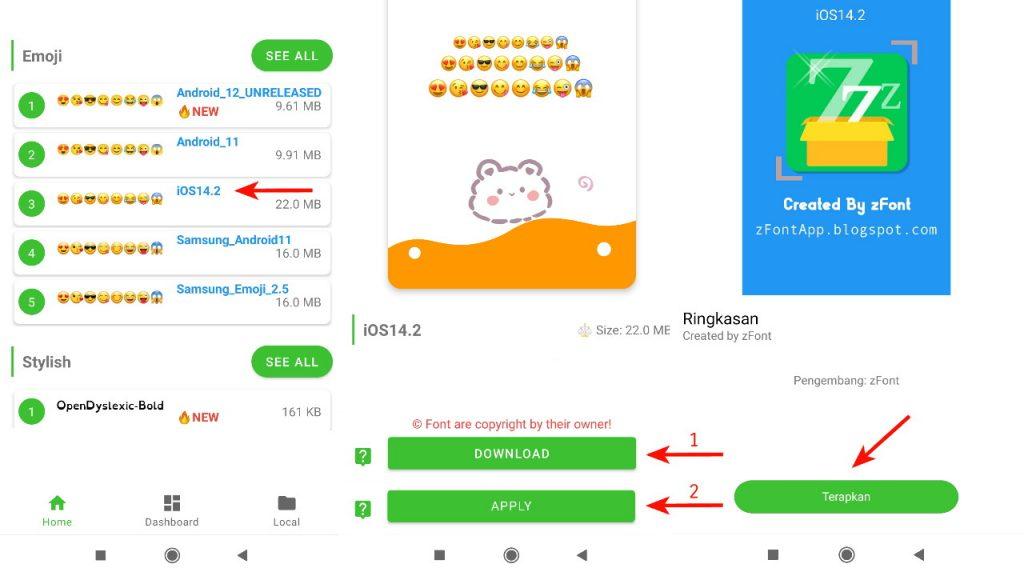 Cara Ubah Emoji Xiaomi Jadi iPhone dengan zFont