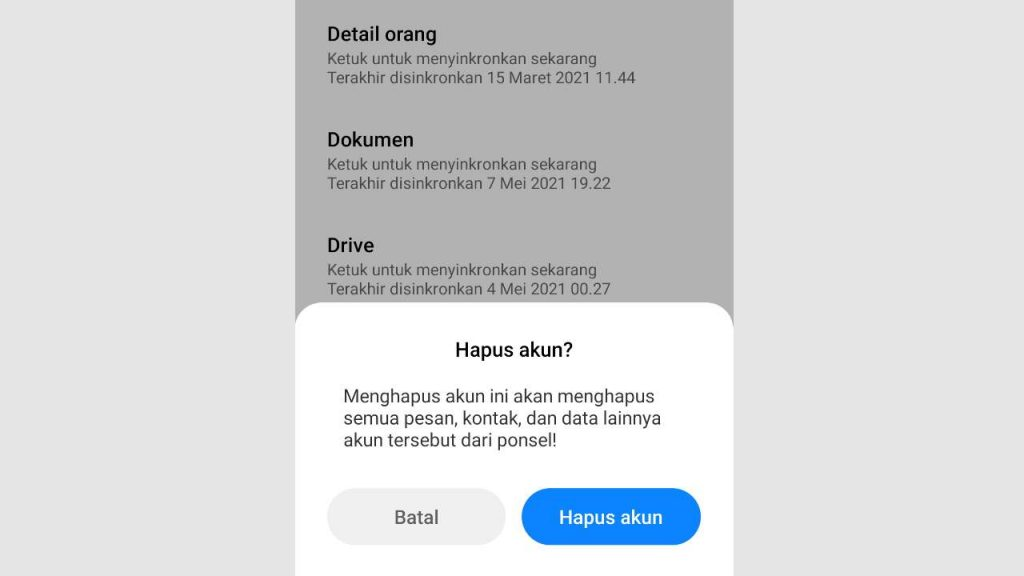 2 Cara Menghapus Akun Google Di Hp Xiaomi Semua Miui Teknolalat